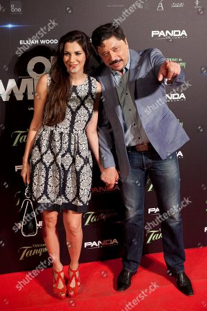 Cecilia Gessa, Carlos Bardem Spanish actors Cecilia Gessa, left, and Carlos Bardem pose for photographers during the premiere of the film 'Open Windows' in Madrid, Spain on