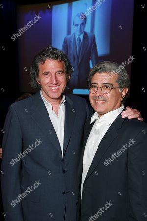 Armyan Bernstein and Terry Semel