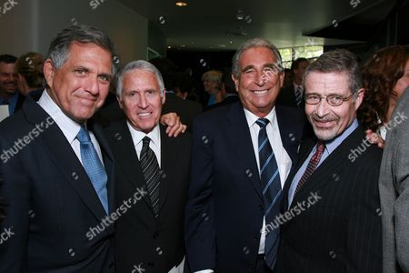 Les Moonves, Dan Fellman, Frank Mancuso and Barry Meyer