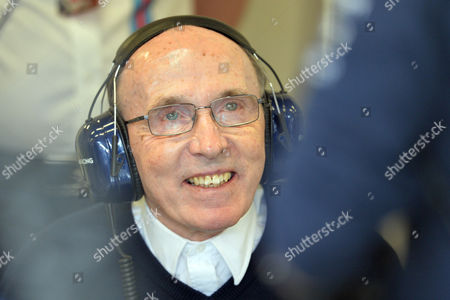Frank Williams Team principal of Williams F1 team Sir Frank Williams smiles during the third training session at the race track in Spielberg, Austria, . The Austrian Formula One Grand Prix will be held on Sunday