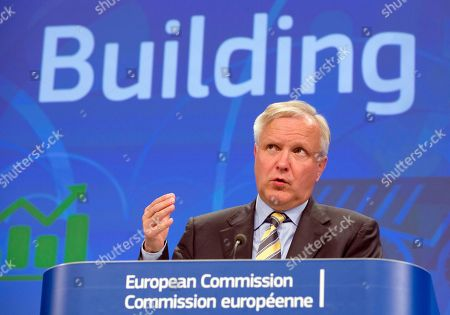 Olli Rehn European Commissioner for the Economy Olli Rehn answers questions from journalists during a media conference at EU headquarters in Brussels . The European Commission, on Monday, adopted a series of economic policy recommendations to individual Member States. The recommendations are based on detailed analyses of each country's situation and provide guidance on how to boost growth, increase competitiveness and create jobs in 2014-2015