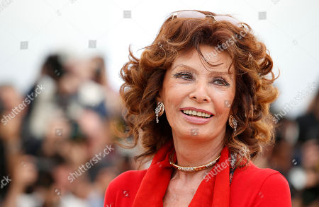 "Sophia Loren Actress Sophia Loren during a photo call for ""Human Voice,"" (Voce Umana) at the 67th international film festival, Cannes, southern France. Loren has a deal with Atria Books for the memoir, ""Yesterday, Today and Tomorrow: My Life as a Fairy Tale."" The publisher announced Thursday, June 26, that the book is scheduled for December 2. Loren, 79, is expected to write about her rise from poverty during World War II to international stardom, sharing her thoughts on Cary Grant, Richard Burton and her husband, Carlo Ponti, among others"
