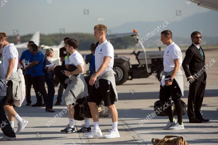 John Hart England national team goalkeeper John Hart, center, arrives at the Galeao Air Base in Rio de Janeiro, Brazil, . England national soccer team arrived in Rio de Janeiro to continue their preparations for the upcoming Brazil 2014 World Cup, which starts on June 12
