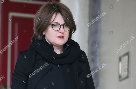 Elizaveta Berezovskaya daughter of Russian oligarch Boris Berezovsky arrives for the inquest into the death of Berezovsky at Windsor Coroners Court, in Windsor, England, Wednesday, March, 26, 2014. Berezovsky who changed his name to Platon Elenin died at his home near Windsor in March 2013