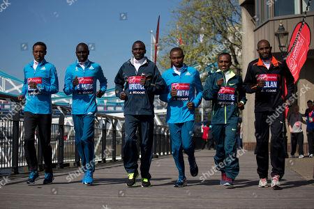 Editorial image of Britain London Marathon, London, United Kingdom