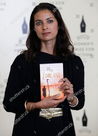 Jhumpa Lahiri Jhumpa Lahiri - The Lowland, one of the authors shortlisted for the Bailey's Women's Prize for Fiction during a photocall ahead of the awards ceremony at the Royal Festival Hall in London, . The Baileys Women's Prize for Fiction is the UK's only annual book award for fiction written by a woman