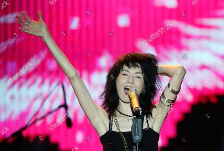 Editorial picture of China Maggie Cheung Concert, Shanghai, China