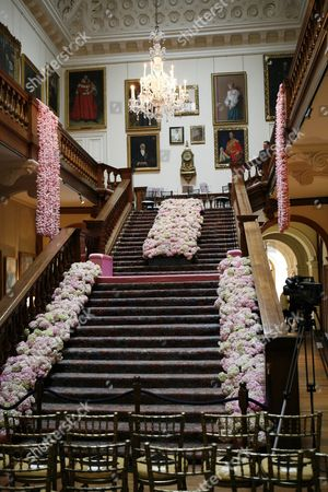 The grand staircase at Althorp