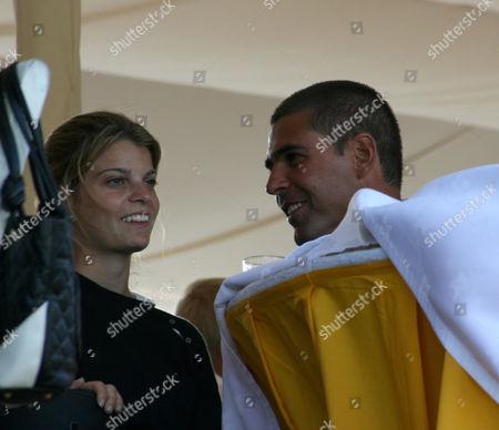 Athina Onassis with Doda Miranda