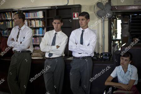 Editorial picture of Cuba Hemingway Movie, Havana, Cuba