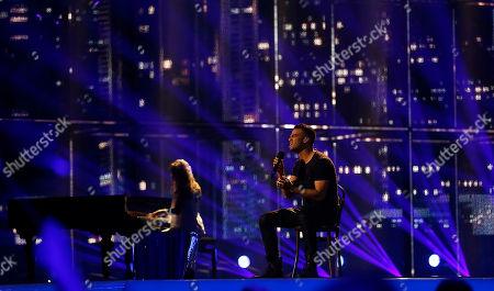 Editorial picture of Denmark Eurovison Song Contest, Copenhagen, Denmark