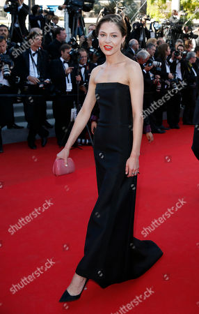 Actress Elena Lyadova arrives for the awards ceremony at the 67th international film festival, Cannes, southern France