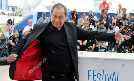 Tony Gatlif Director Tony Gatlif poses during a photo call for Geronimo at the 67th international film festival, Cannes, southern France