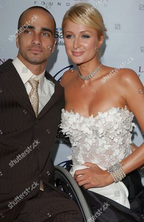 Jesse Billauer and Paris Hilton