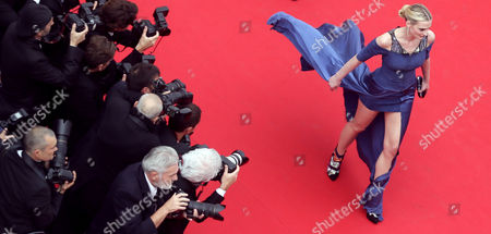 Sarah Marshall Model Sarah Marshall arrives for the screening of The Search at the 67th international film festival, Cannes, southern France