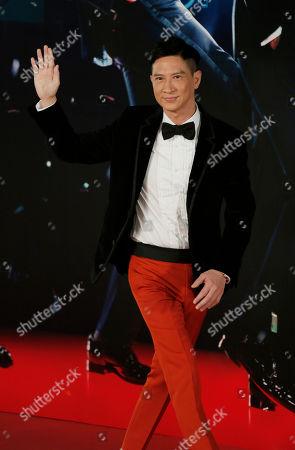 Nick Cheung Ka Fai Hong Kong actor Nick Cheung Ka Fai poses on the red carpet of the 33rd Hong Kong Film Awards in Hong Kong
