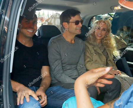 Stock Picture of American entrepreneur and film producer Joe Francis, left, and Italian journalist and the editor-in-chief of Vogue Italia Franca Sozzani, right, arrive in Florence, Italy,. Kim Kardashian West and Kanye West will wed and host a reception at Florence's imposing 16th-century Belvedere Fort on May 24, according to a spokeswoman at the Florence mayor's office. The couple rented the fort, located next to Florence's famed Boboli Gardens, for 300,000 euros ($410,000) and a Protestant minister will preside over the ceremony. Belvedere Fort was built in 1590, believed using plans by Don Giovanni de' Medici. Located near the Arno River, it offers a panoramic view of Florence and the surrounding Tuscan hills