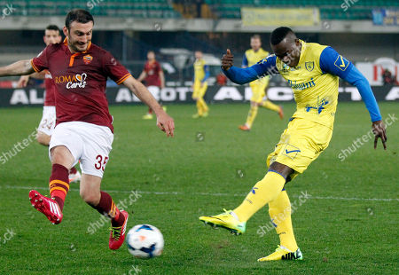 Editorial photo of Italy Soccer Serie A, Verona, Italy