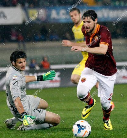 Editorial image of Italy Soccer Serie A, Verona, Italy