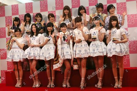 Editorial picture of Japan AKB48 Poll, Tokyo, Japan
