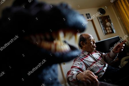 Editorial picture of Japan American Godzilla, Sagamihara, Japan
