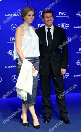 Lord Sebastian Coe, Carole Annett Laureus World Sports Academy member Lord Sebastian Coe, right, and his wife Carole Annett pose for photos upon arriving at the Laureus World Sports Awards in Kuala Lumpur, Malaysia