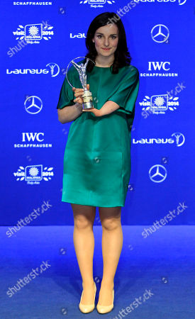 Marie Bochet France's alpine skier Marie Bochet displays her World Sportsperson of the Year with a Disability trophy as she poses for photos during the Laureus World Sports Awards in Kuala Lumpur, Malaysia
