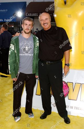 Dr. Phil McGraw and son Jay McGraw
