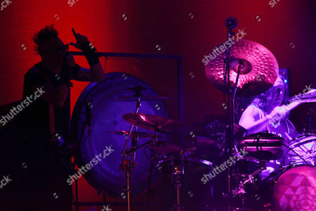 Maynard James Keenan, Danny Carey Tool's lead singer Maynard James Keenan or MJK and drummer Danny Carey perform during the Cumbre Tajin 2014 music festival in Papantla, Mexico