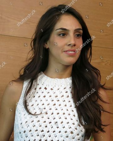 Sandra Echeverria Mexican actress Sandra Echeverria poses for photographers after a press conference to promote an event for women's fitness, in Mexico City, . Echeverria said she doesn't feel any pressure for her upcoming wedding with Mexican singer and TV host Leonardo de Lozanne