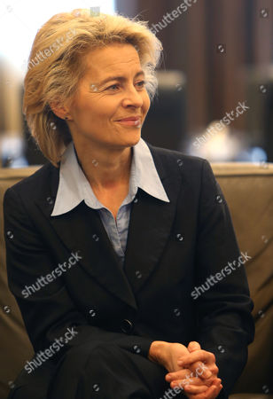 Ursula von der Leyen German Defense Minister Ursula von der Leyen meets with Lebanese prime minister Tamam Salam at the Lebanese government palace, in Beirut, . Leyen is in Lebanon to meet with Lebanese officials and to visit to the German UNIFIL navy service members