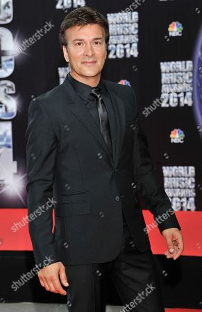 Portuguese musician Tony Carreira poses as he arrives for the World Music Awards in Monaco, . The awards are presented to the world's best-selling artists in various categories and to the best-selling artists from each major territory