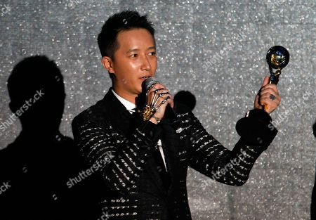 Han Geng Singer Han Geng receives an award during the World Music Awards in Monaco, . Awards are presented to the world's best-selling artists in the various categories and to the best-selling artists from each major territory