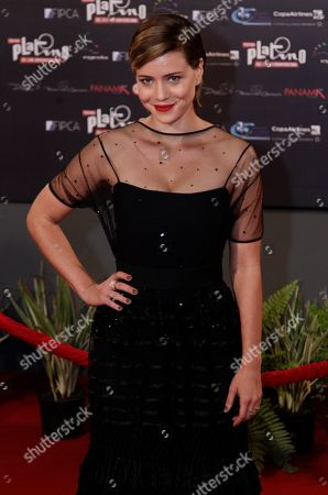 Leandra Leal Brazil's actress Leandra Leal arrives for the first edition of the Platino Ibero-American Cinema Awards at the Anayansi theater in Panama City