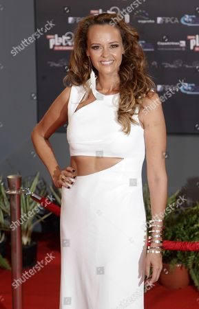 Shaila Durcal Spain's singer and songwriter Shaila Durcal arrives for the first edition of the Platino Ibero-American Cinema Awards at the Anayansi theater in Panama City
