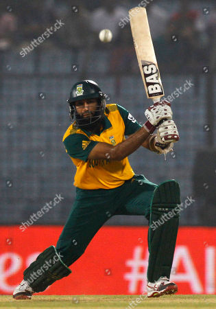 Hashim Amla Showing South Africa's Hashim Amla playing a shot during their ICC Twenty20 Cricket World Cup match against England in Chittagong, Bangladesh. South Africa appointed Amla, Tuesday June 3, 2014, as its news test cricket captain succeeding longtime leader Graeme Smith who retired