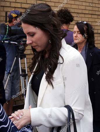 Oscar Pistorius Oscar Pistorius's sister Aimee Pistorius, leaves the high court in Pretoria, South Africa, . Pistorius is charged with murder for the shooting death of his girlfriend, Reeva Steenkamp, on Valentines Day in 2013