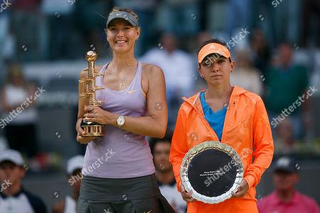 Editorial image of Spain Madrid Open Tennis, Madrid, Spain