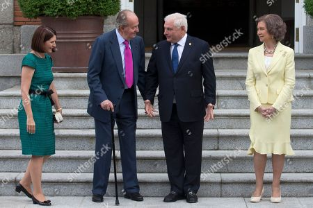 Editorial photo of Spain Panama, Madrid, Spain