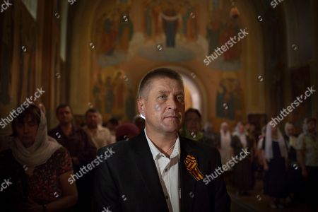 Vyacheslav Ponomarev Vyacheslav Ponomarev, the self-proclaimed mayor of Slovyansk, attends a Sunday's Orthodox service in Slovyansk, eastern Ukraine, . Lawmakers and officials from eastern Ukraine on Saturday poured criticism on the fledging central government, accusing it of ignoring legitimate grievances of the regions which have been overrun by pro-Russia militia fighting for independence