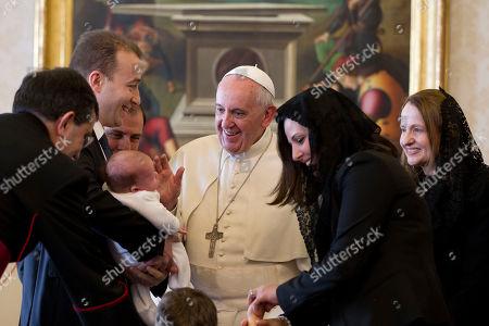 Editorial image of Vatican Pope Malta