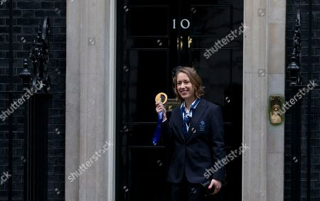 Editorial photo of Britain Olympic Medals, London, United Kingdom