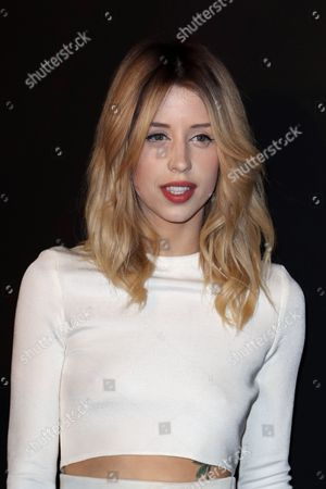"""Peaches Geldof Peaches Geldof arrives to attend the ETAM's ready to wear fall/winter 2014-2015 fashion collection presented in Paris. Heroin is like to have played a role in the death of 25-year-old model and television personality Peaches Geldof, authorities said Thursday. Detective Chief Inspector Paul Fotheringham of the Kent and Essex Serious Crime Directorate told an inquest into the death of the second daughter of Live Aid organizer Bob Geldof that a post-mortem examination was inconclusive, prompting further tests. In a 10-minute hearing, Fotheringham discussed her final days. """"Recent use of heroin and the levels identified were likely to have played a role in her death,"""" he said. The news offers a sad echo of the death of her mother, television presenter Paula Yates, who died of a drug overdose in 2000 when Peaches Geldof was 11. In her final message on Twitter, she posted a photograph of herself as a toddler next to her mother along with the caption: """"Me and my mum."""" Peaches Geldof died at her home south of London on April 7. Inquests are held in Britain to determine the facts in sudden, violent or unexplained deaths"""