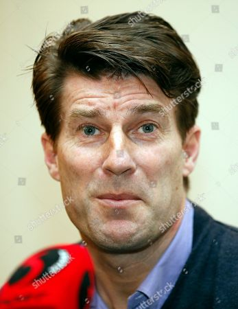 Michael Laudrup Danish soccer coach Michael Laudrup talks to members of the media during a news conference in west London, . Laudrup says he is considering taking legal action after being sacked as manager of Swansea City. The Dane, who led the Swans to League Cup success last year, added he had not been allowed to return to the training ground to say goodbye to staff. In a statement issued by the League Managers' Association (LMA), he claimed he is still waiting to hear the reasons why he was dismissed