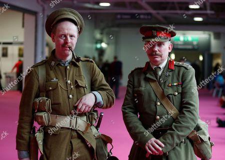 Editorial image of Britain World War One Reenactor, London, United Kingdom