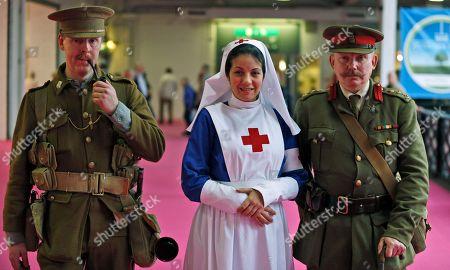 Editorial photo of Britain World War One Reenactor, London, United Kingdom