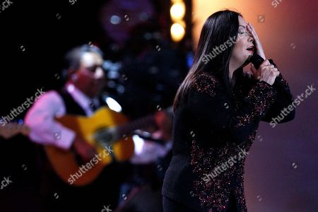 Ana Gabriel Mexican singer Ana Gabriel performs at the Vina del Mar International Song Festival in Vina del Mar, Chile, . Believed to be one of the largest musical events in Latin America, the annual weeklong festival was first inaugurated in 1960