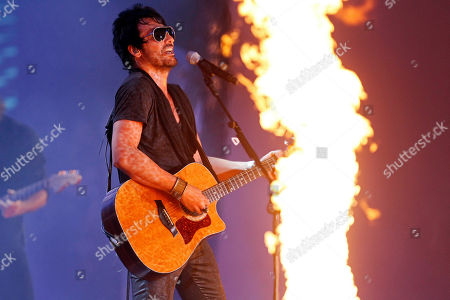 La Ley Beto Cuevas, lead singer for the Chilean band La Ley, performs at the Vina del Mar International Song Festival in Vina del Mar, Chile, . Believed to be one of the largest musical events in Latin America, the annual weeklong festival was first inaugurated in 1960