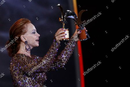 Paloma San Basilio Paloma San Basilio holds her seagull of silver and gold awards at the Vina del Mar International Song Festival in Vina del Mar, Chile, . Believed to be one of the largest musical events in Latin America, the annual weeklong festival was first inaugurated in 1960