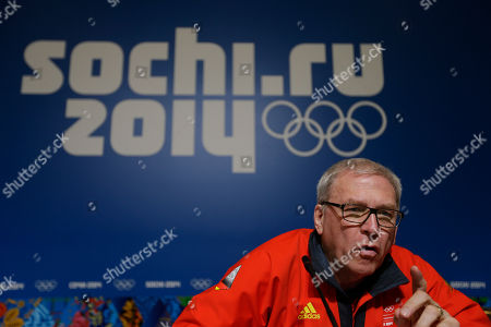Michael Vesper Michael Vesper, director general of the German Olympic Sports Confederation, answers a reporter's question at a press conference in response to a top German biathlete testing positive for doping at the 2014 Winter Olympics, in Sochi, Russia